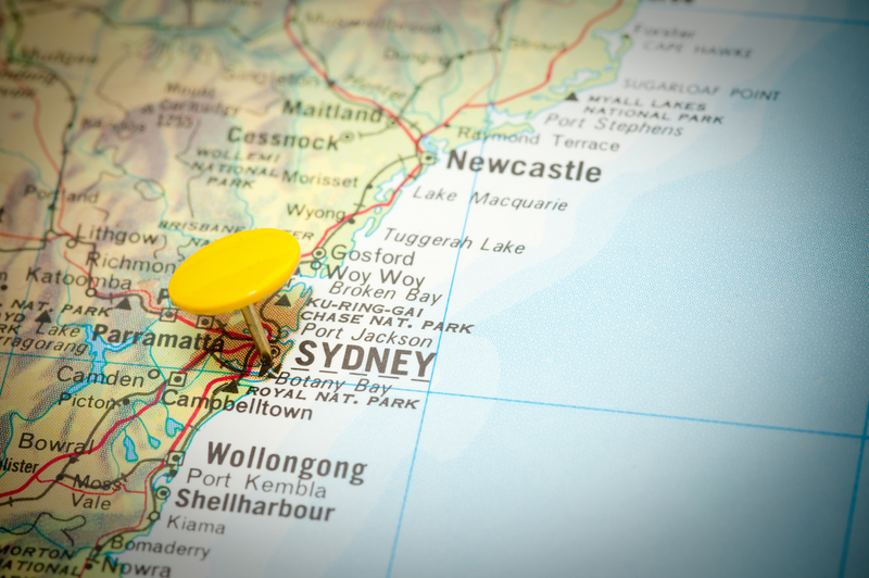 Sydney Map location